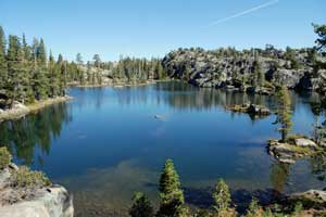 Photo of Middle Loch Leven, Tahoe National Forest, CA