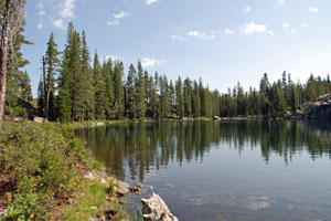 Photo of Round Lake, Tahoe National Forest, CA