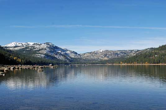 Photo of Donner Lake
