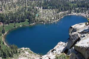 Frog Lake at Donner Summit, CA