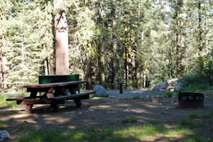 East Meadow Campground, Jackson Meadows Reservoir, CA