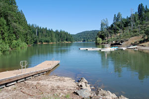 Photo of Rollins Lake, Nevada County and Placer County, CA