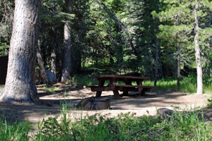 WoodcampCampground, Jackson Meadows Reservoir, CA